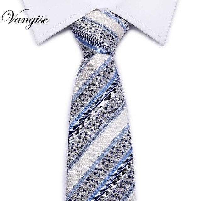 8CM Hot Classic Stripe Dark Blue Yellow 100/% Silk Men/'s Necktie Neck Tie 3.15/'/'