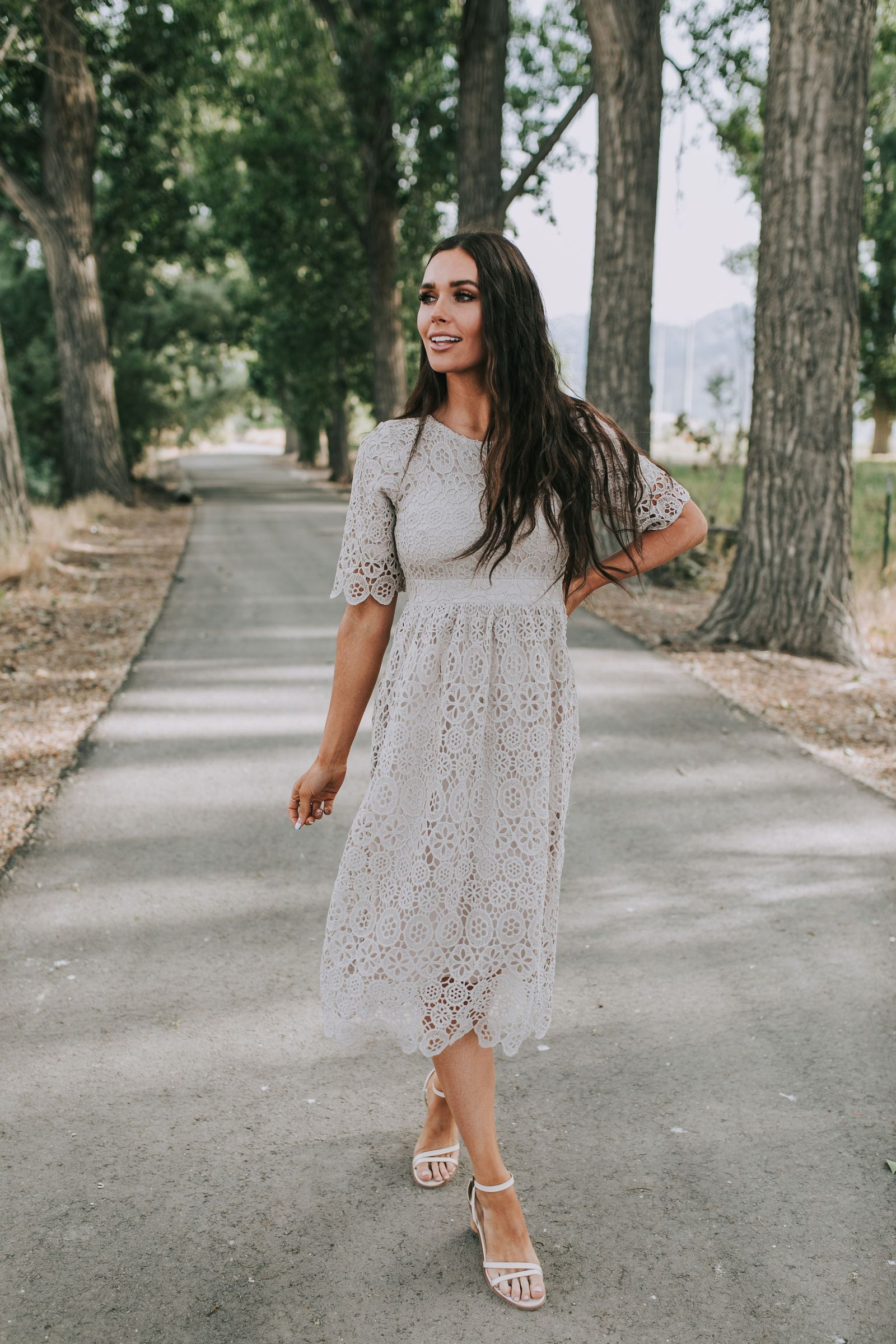 Elena Lace Dress In 2020 Dresses Lace Dress Dresses To Wear To A Wedding