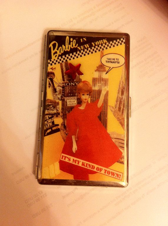 Barbie in New York Take Me To Tiffany's Mirror by cheetahrama (Accessories, Case, Card, doll memorabilia)