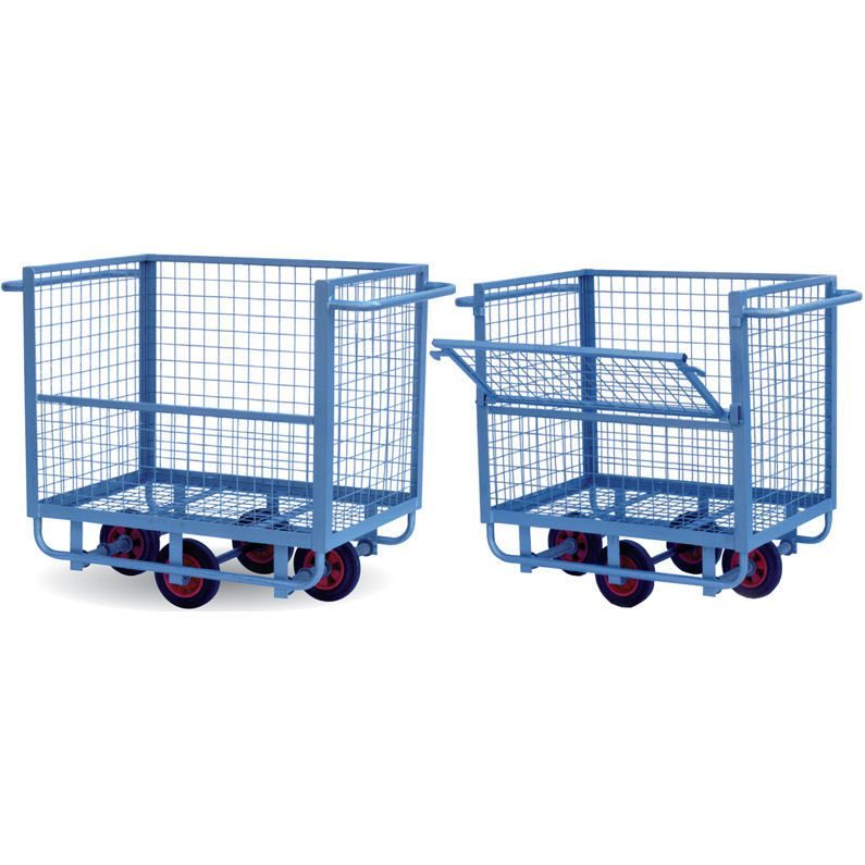 Wire Mesh Box Trucks / Trolleys | Projects to Try | Pinterest | Wire ...