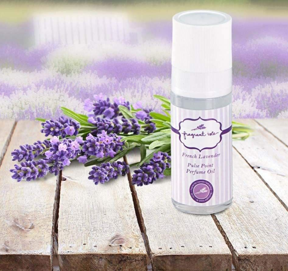 Any time you need that uplifting scent of Lavender, just