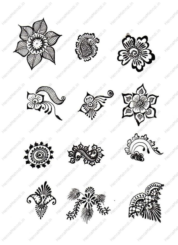 Mehndi Flower Designs Step By Step : Henna designs for beginners step by google search