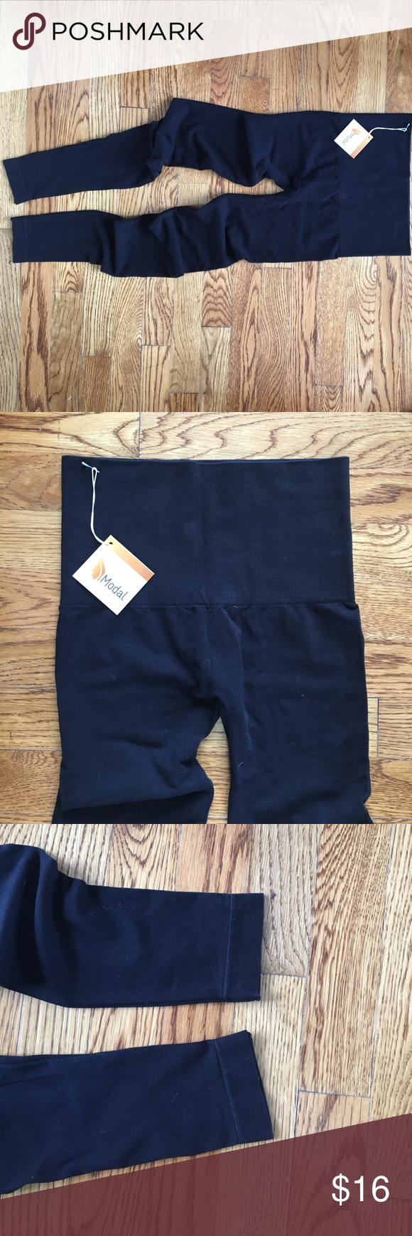 Boutique Quality Modal Leggings Brand New high quality leggings from Jessa Kae boutique. Size Small. Very soft-modal is the BEST material for leggings! Nice wide waist band for tummy control. These are high quality and could even be used for workouts. Emma's Closet Pants Leggings