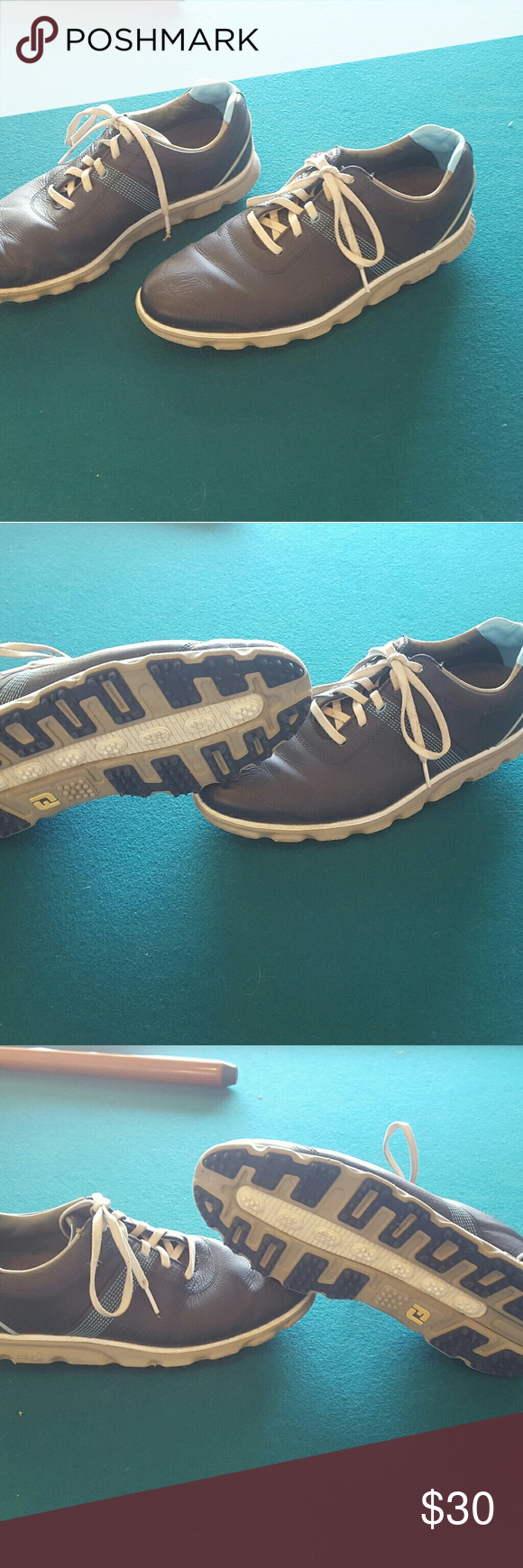 Footjoy dry joy casuals golf shoes size 10 Footjoys are the number one shoes in the game of golf these ones are awesome waterproof leather super comfortable spikeless with tons of traction only worn a few times retails for $159.99 Shoes Athletic Shoes #shoegame