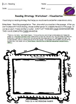 34+ Reading visualisation worksheets Popular