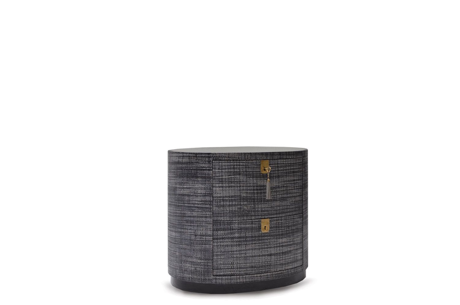 Formation Side Table in Goatskin and Lacquer | Scala Luxury ...