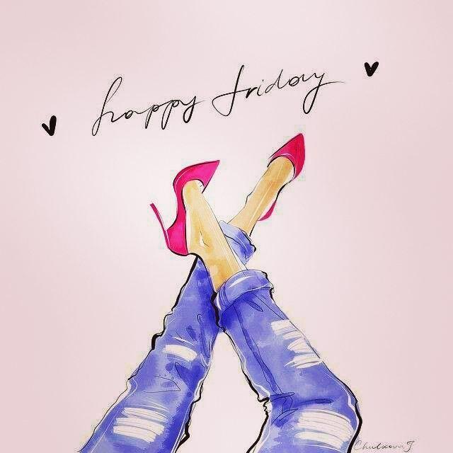 """Happy friday! 👠💄 Feliz sexta-feira!"""