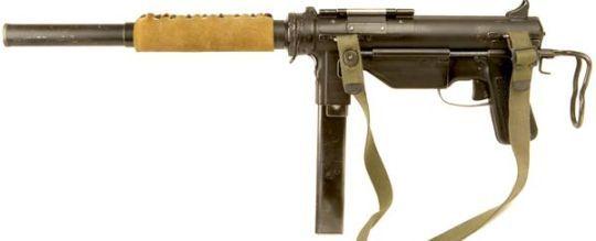 OSS M3 Grease Gun suppressed submachine gun | MILATERY