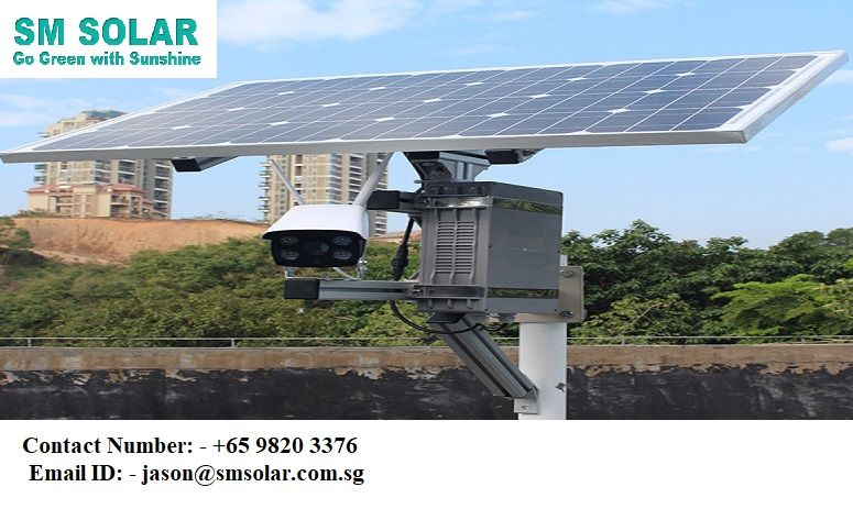 Solar Cctv Company In Singapore Solar Roof Solar Panel Solar Panels