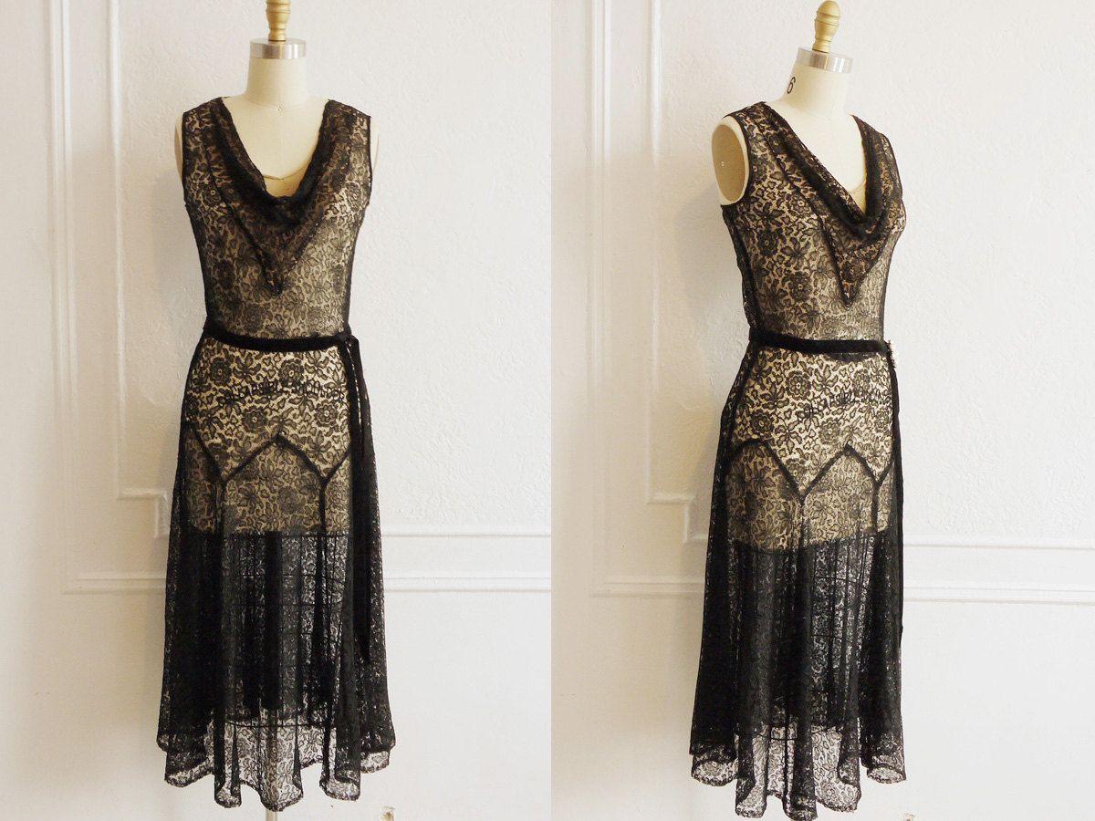 Lace dress vintage  imgsystaticilfullxfullg