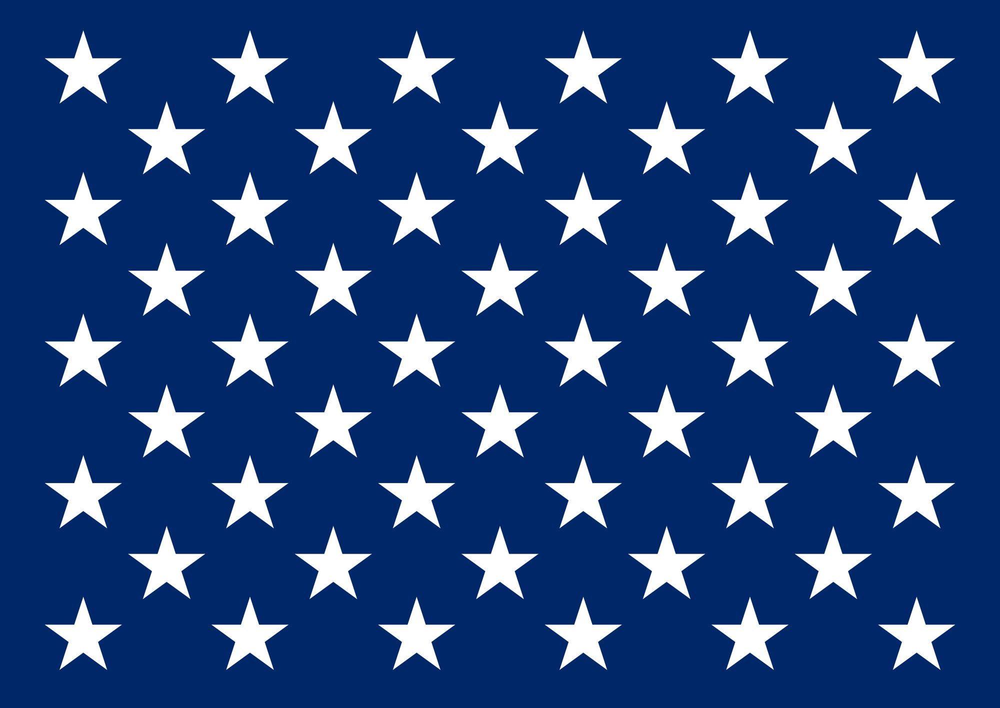 This is a picture of Tactueux American Flag Star Template Printable