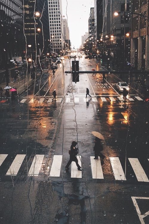Imagem Atraves Do We Heart It Weheartit Entry 171988332 City Day New Peace Rain Raining York