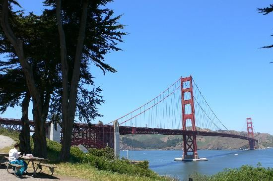 San Francisco, Ca  Golden gate bridge, Street cars, Alcatraz