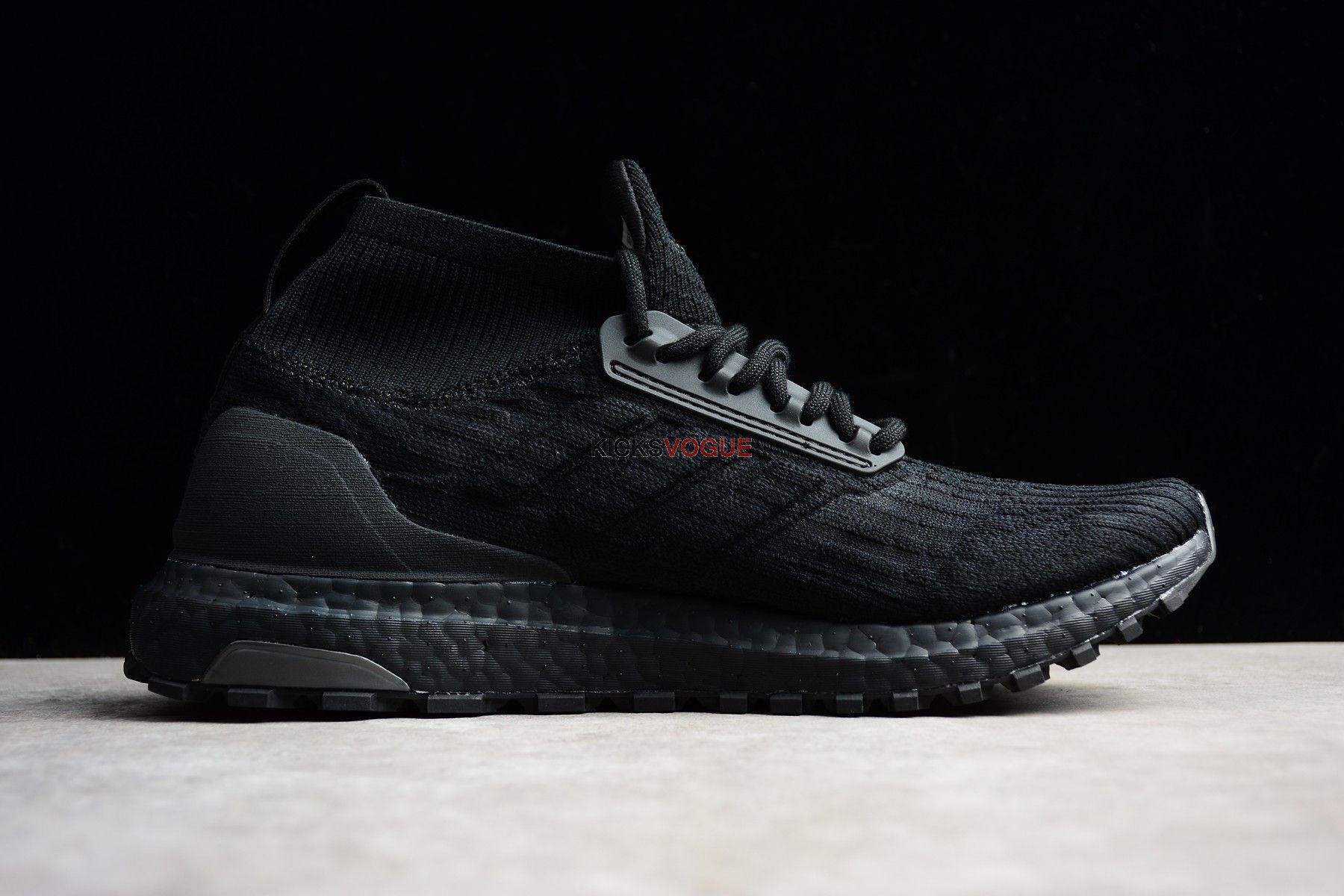 e184309732b41 ADIDAS ULTRA BOOST ATR MID PRIMEKNIT triple black BY8925