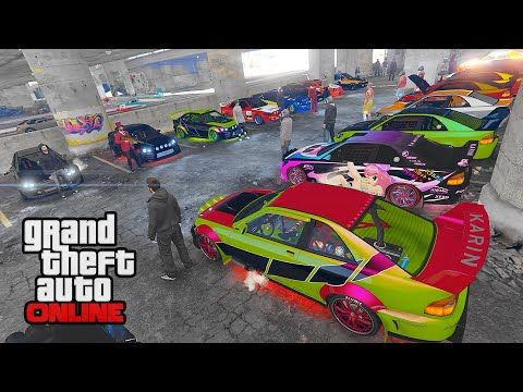 Dlc Sultan Rs Car Show Gta 5 Online Pc Funny Moments You