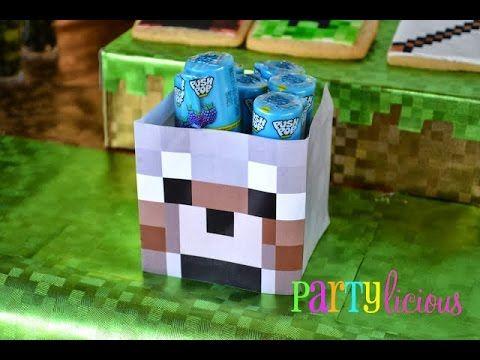 Minecraft TNT Party Favours YouTube Hugo Anos Pinterest - Minecraft spiele mit tnt