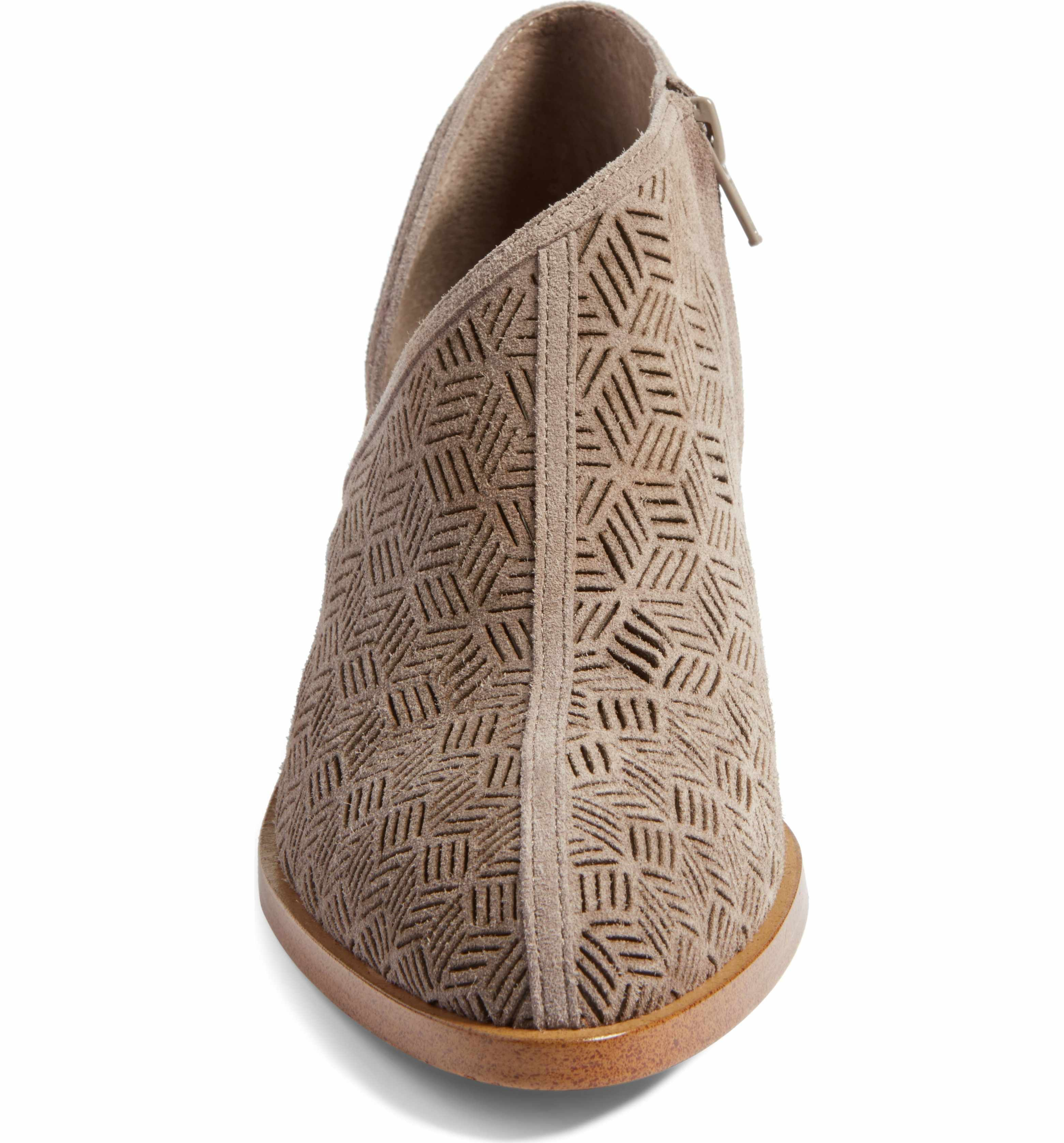 e9ab8ab8f15 Main Image - 1.STATE Iddah Perforated Cutaway Bootie (Women ...