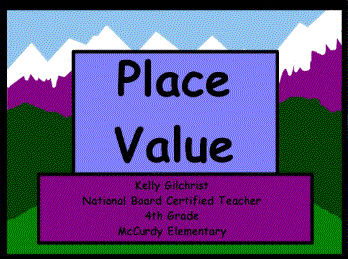 This is one of the greatest lessons on place value of whole numbers to the millions place that I have ever used!  It includes flash video, a video from United Streaming, a place value game, assessment integration with either Activotes or Activexpressions and some audio content.  This flipchart will open in Promethean's ActivInspire only!