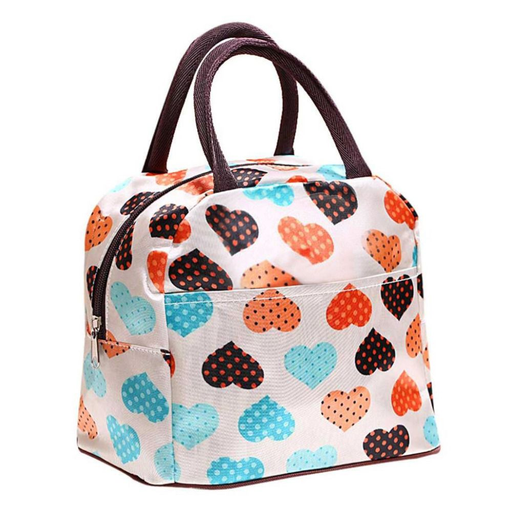 Portable Waterproof Insulated Lunch Bag Organizer Picnic Carry Tote Zipper US !