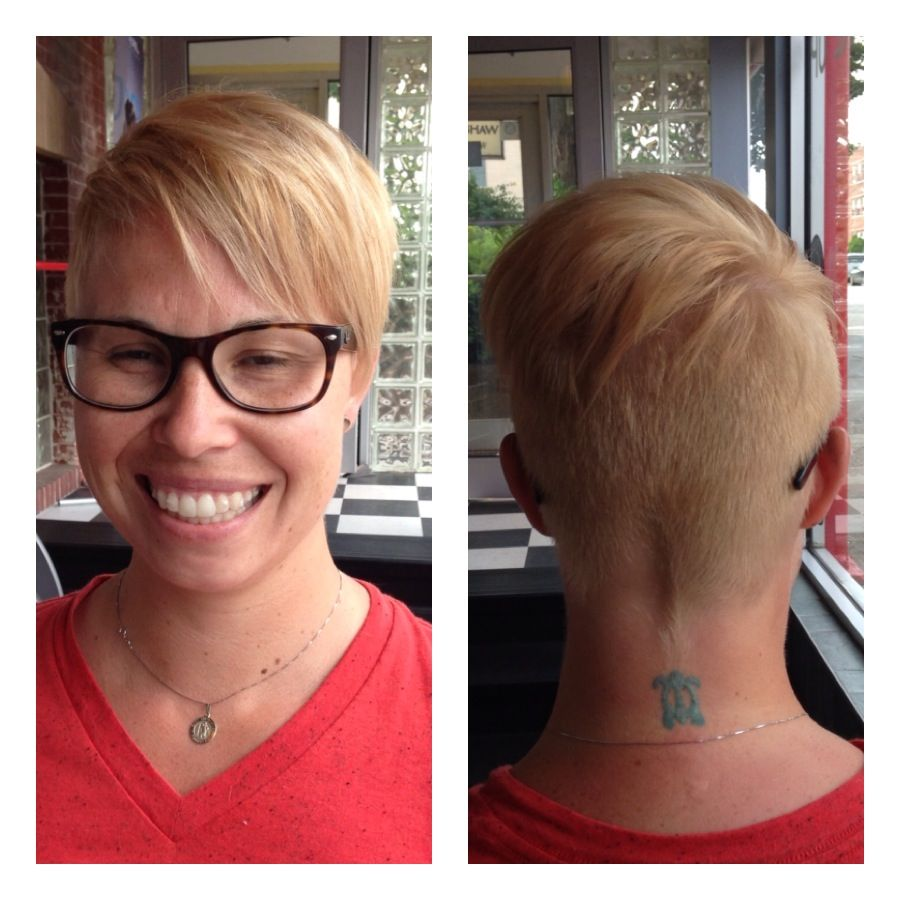 Double Process Haircut And Style By Diane Doubleprocess