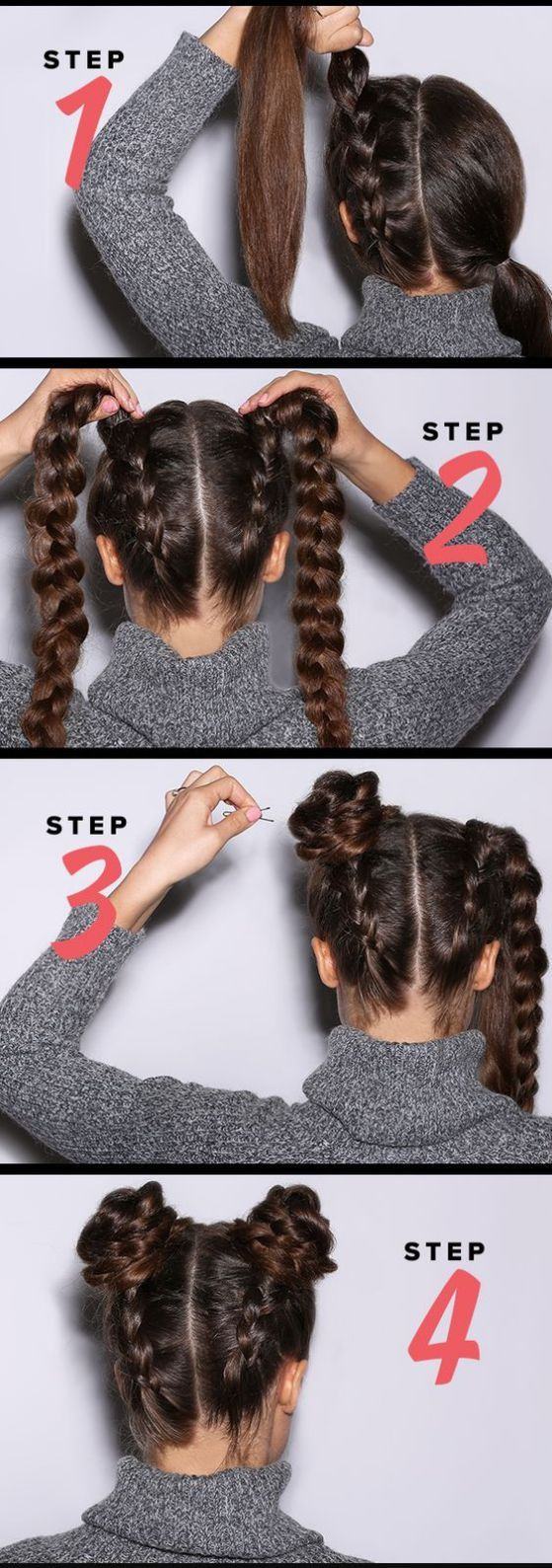 Rápido y fácil peinados para niñas faciles paso a paso Colección de cortes de pelo estilo - +40 Peinados para niñas fáciles y rápidos, tutos paso a ...