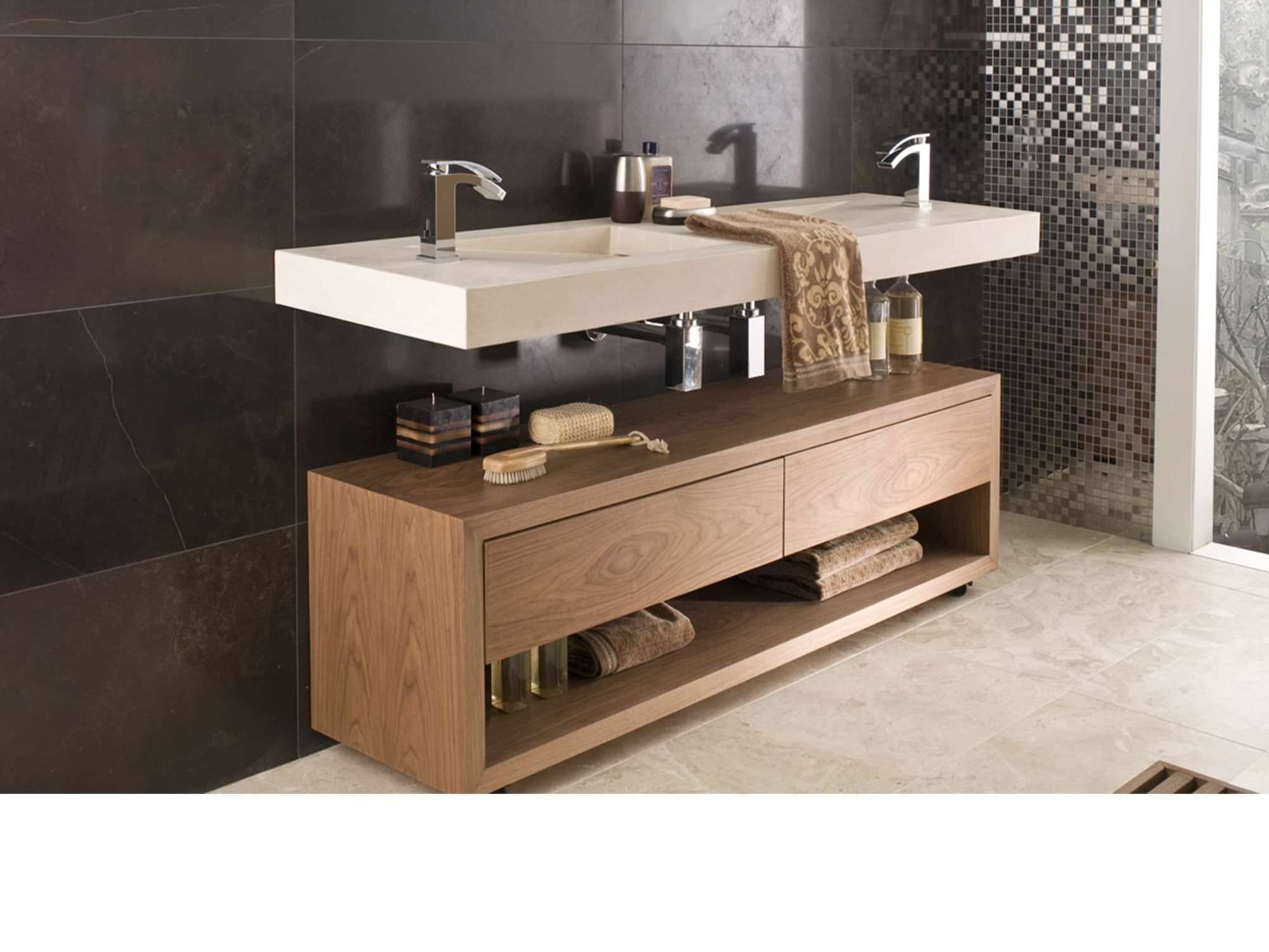 Mueble Con Ruedas De Ba O Hampton L Antic Colonial By Porcelanosa  # Muebles Wc Para Bano