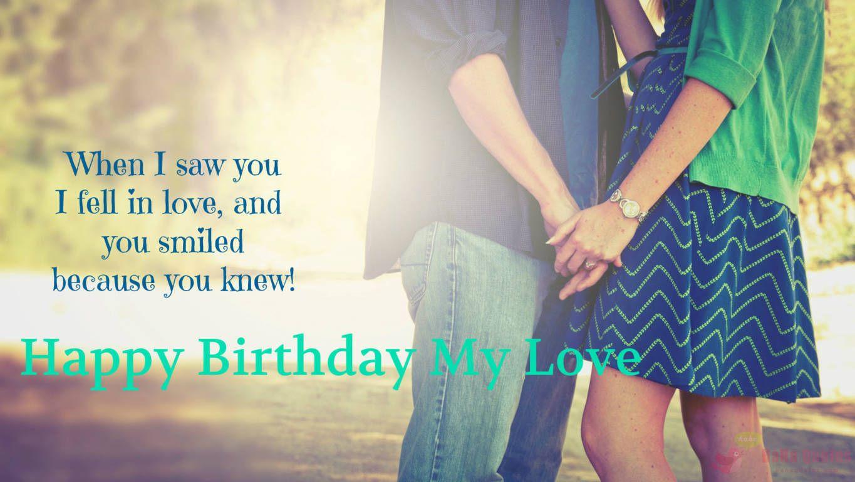 Birthday Wishes For Girlfriend Boyfriend Whatsapp Status