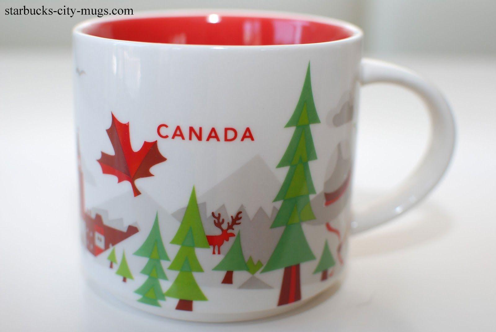 "Canada - ""You Are Here"" Starbucks Mug"