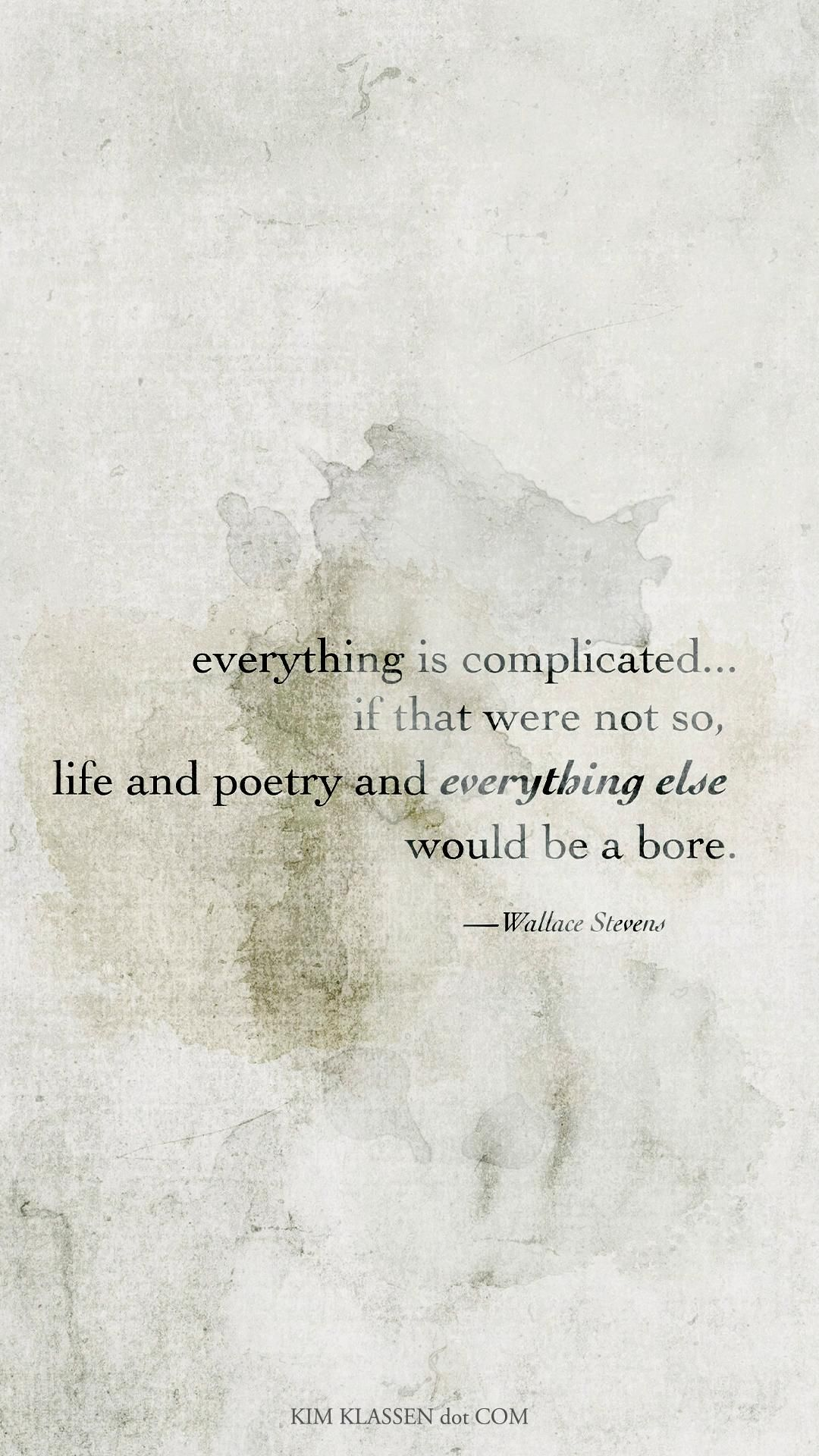 it's complicated ....