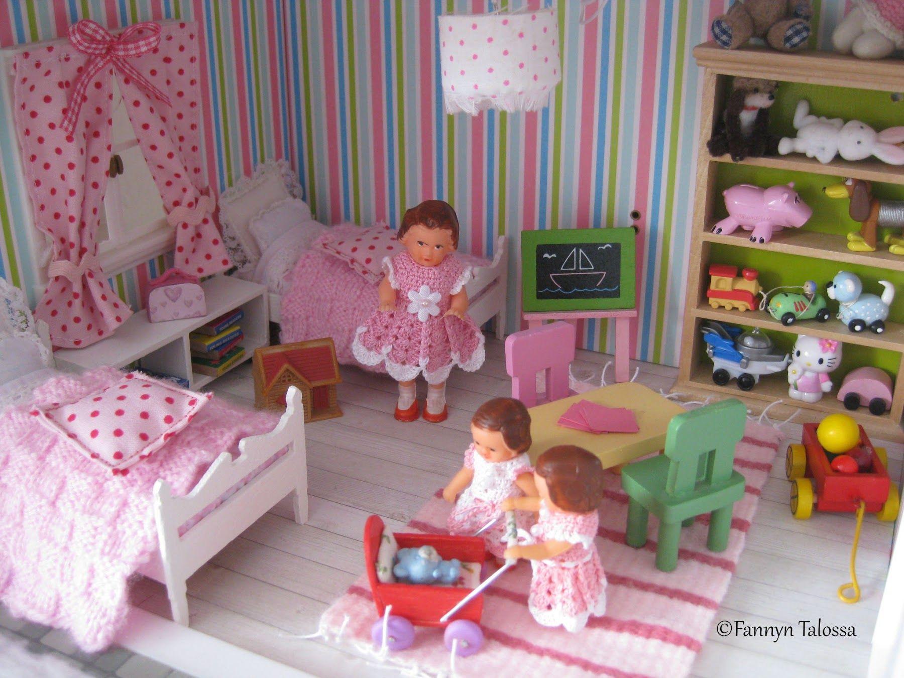 Fannyn Talossa: Nukkekodin lastenhuoneesta