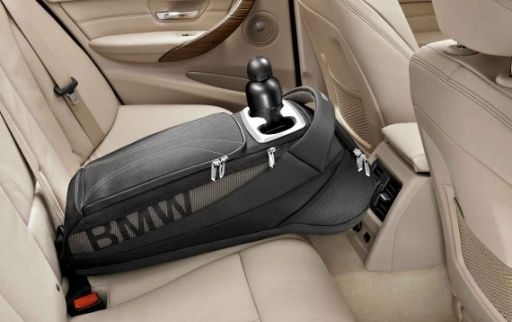 Bmw 1 Series F20 F21 Storage Bag With Cup Holder Rear Seat Genuine