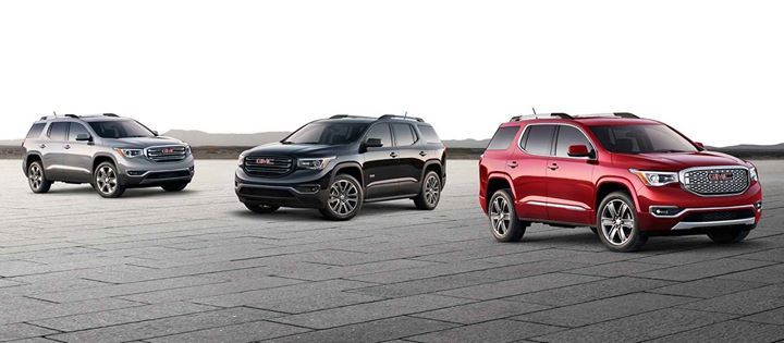 On Point Style Inside And Out Gmc Acadia Mid Size Suv Suv Gmc