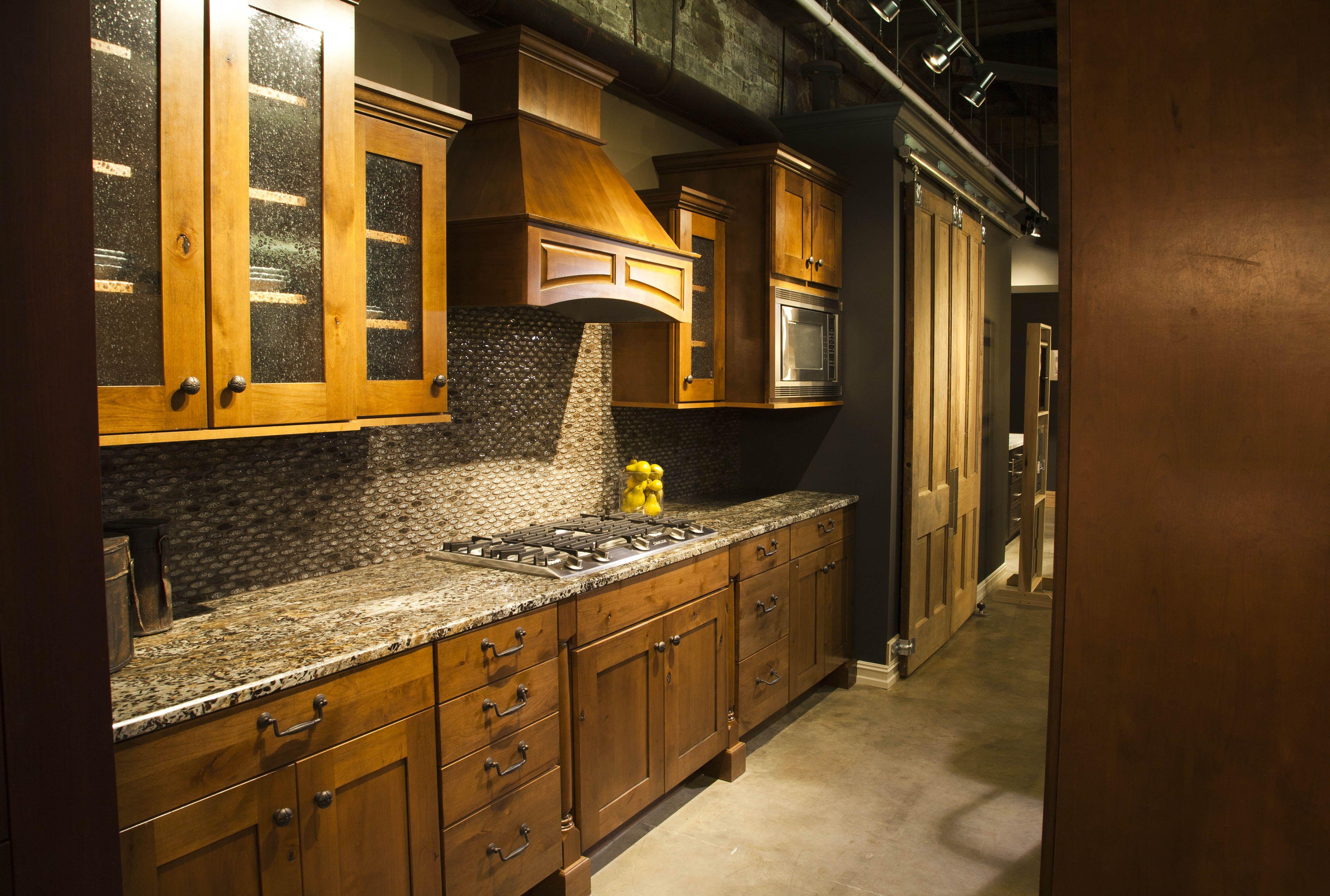 The Requarth Co Kitchen Showroom Dayton Ohio Home Depot Kitchen Remodel Cherry Wood Kitchen Cabinets Kitchen Remodel