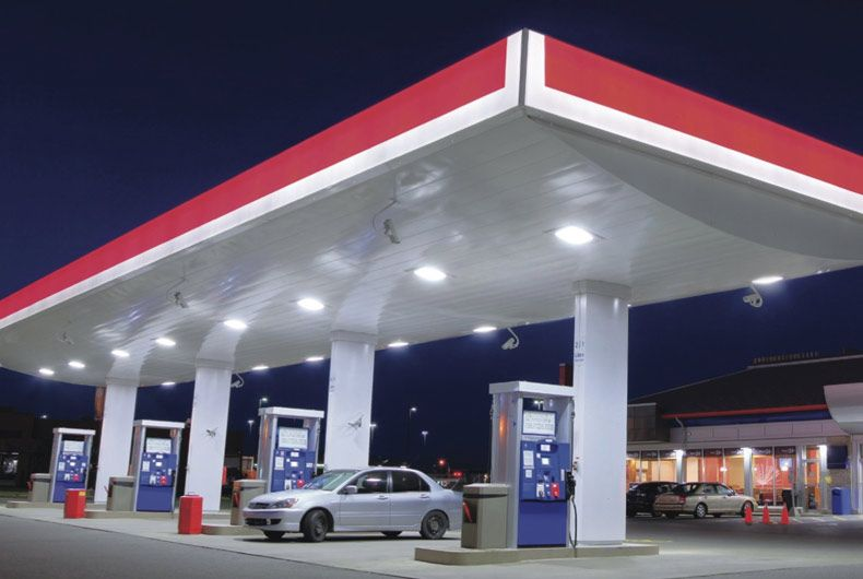 Crest Led Comes With Best Range Of Gas Station Lighting