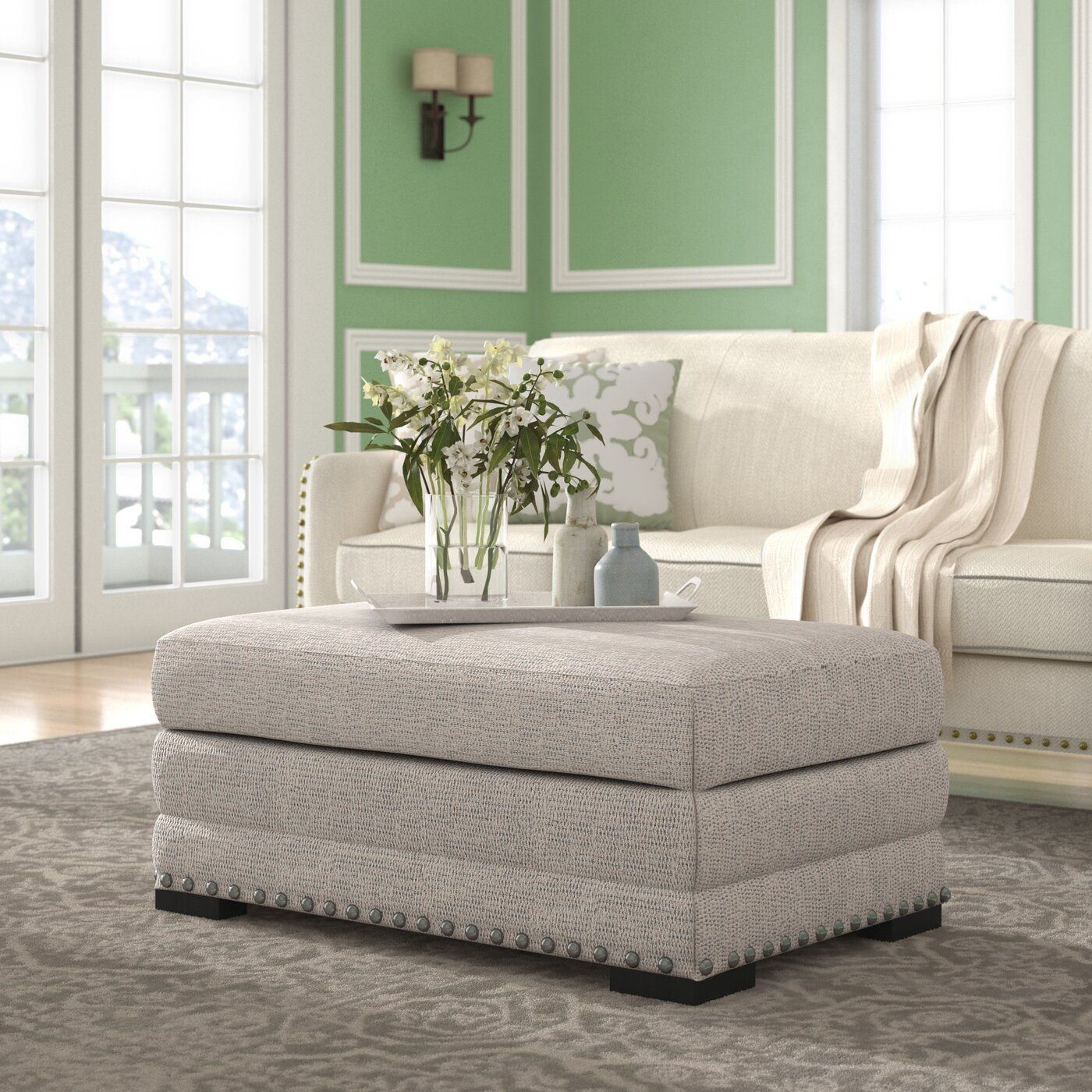 Swanigan Storage Ottoman Ottoman, Furniture, Upholstered