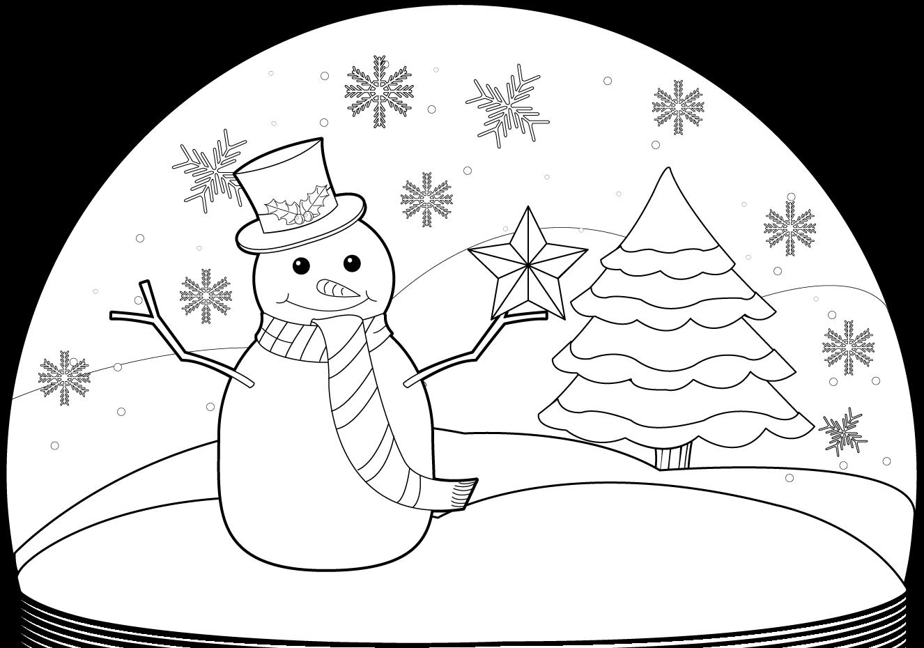 Snowman Clipart Free