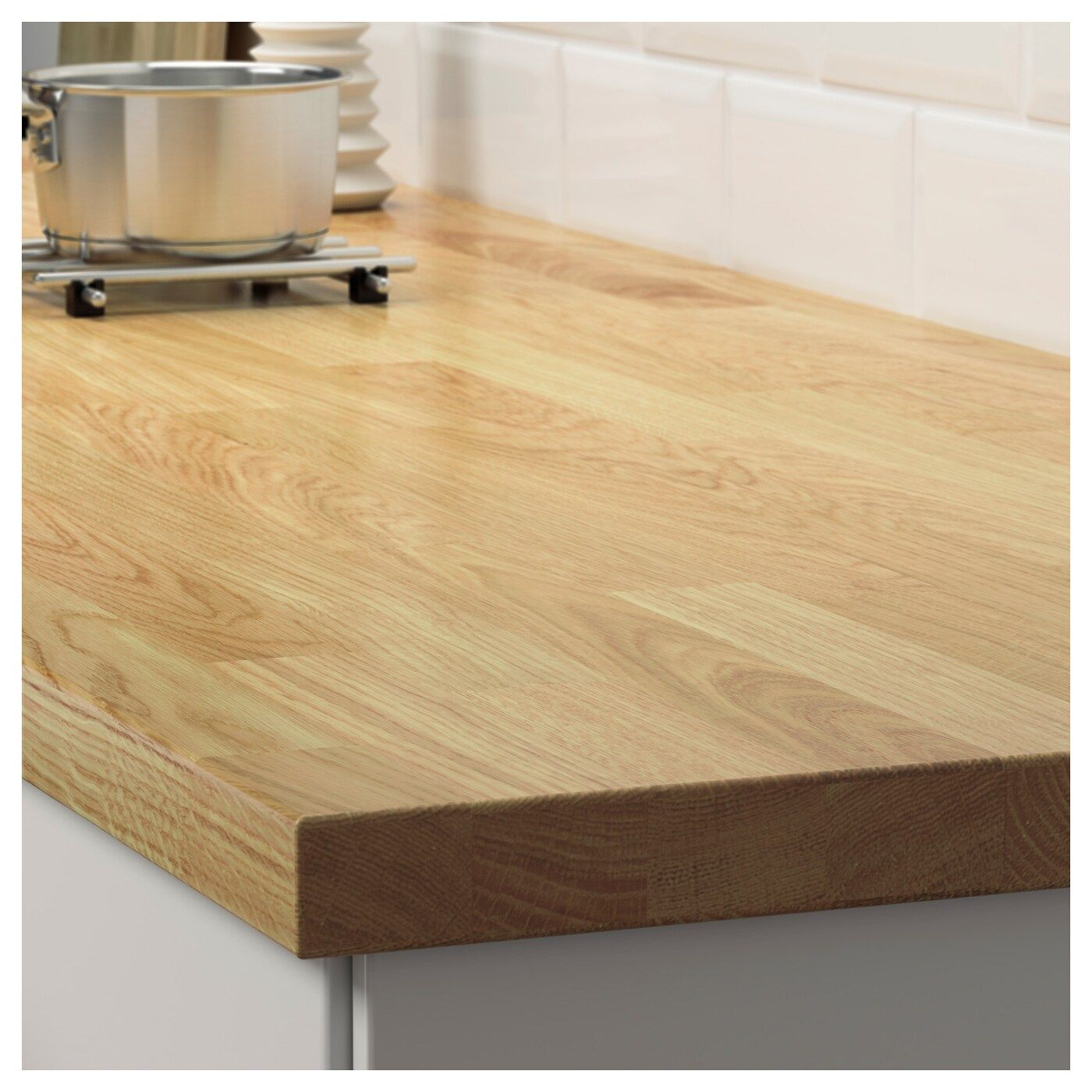 Karlby Countertop For Kitchen Island Oak Veneer 74x42x1 1 2