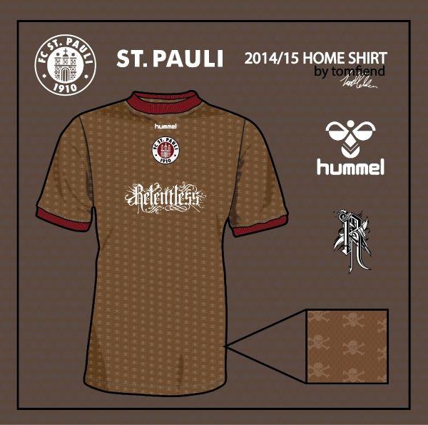 St. Pauli Home Shirt