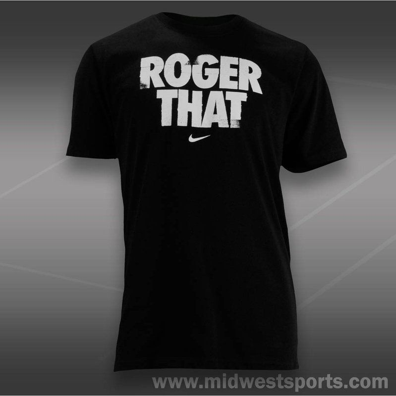 Nike Mens Tennis Shirt, Roger Graphic T Shirt 533804 010