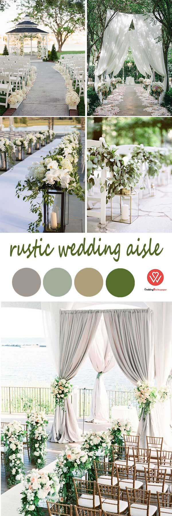 Top 10 Rustic Ideas From 1950s To Rock Your Wedding shade of grey ...