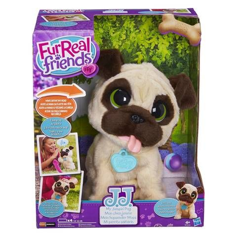 Fur Real Friends Jj My Jumping Pug Toys R Us Fur Real Friends