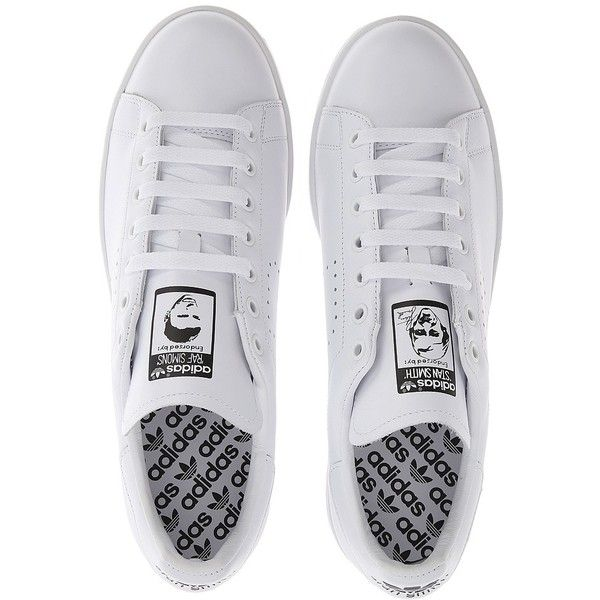 0147fb8b62a adidas by Raf Simons Simons Stan Smith (€405) ❤ liked on Polyvore featuring