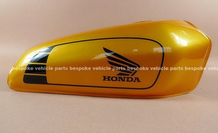 Cafe Racer Gas Fuel Tank For Honda Cg125 Cg 125 W Petrol Tap Rubber Grips Gy Bike Tank Motorcycle Tank Cafe Racer Parts