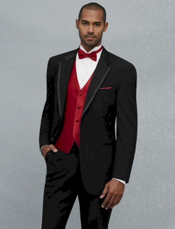 Nice 40 Men Best Suit For Christmas Eve Http Attirepin Com 2017 11 19 40 Men Best Suit Christmas Eve Wedding Suits Men Suits Vest And Tie