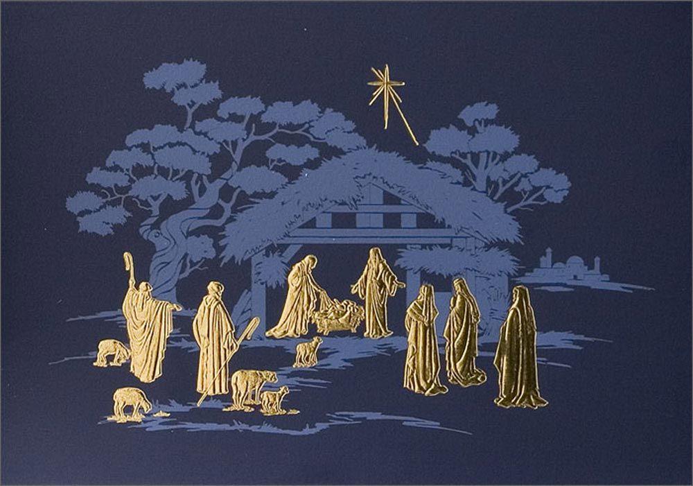 Christmas Nativity Religious Abstract Royalty Free Stock Photo