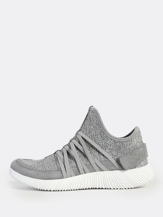 0f79ee0c1221 Online shopping for Textured Sole Knit Sneakers BLACK from a great  selection of women s fashion clothing