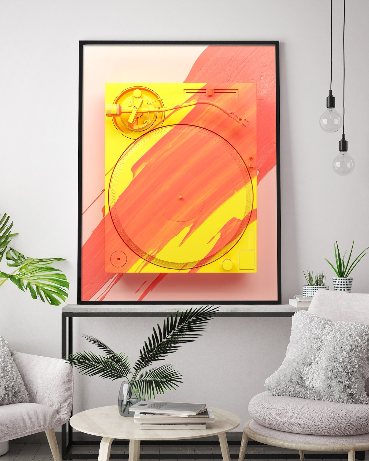 Painted Objects: 3D Artworks by Ben Fearnley – Inspiration Grid | Design Inspiration #art #artwork #wallart #print #poster #canvas #inspirationgrid