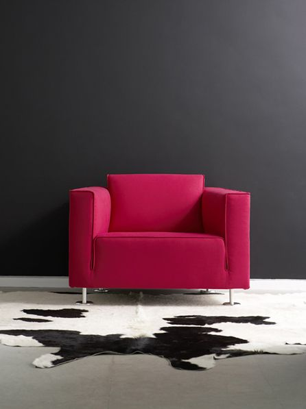 Design On Stock Blizz.Mr Blizz From Design On Stock Upholstered With A Fresh Pink Of Our