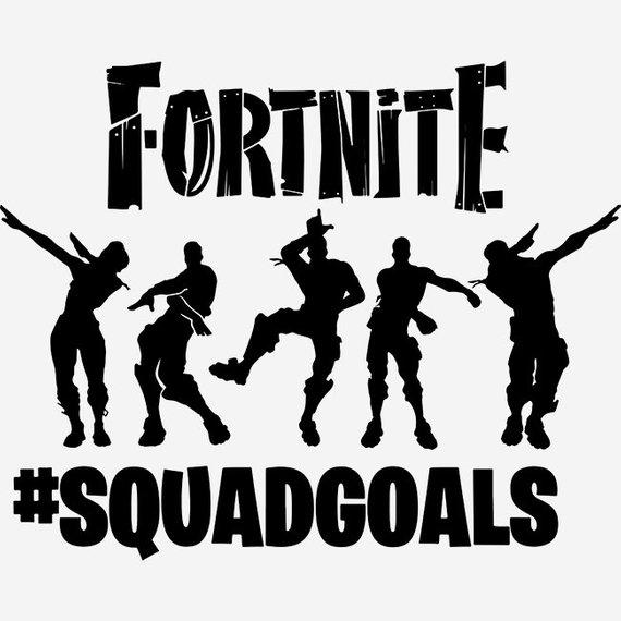fortnite squadgoals svg fortnite svg squadgoals svg floss svg battle royale svg dance svg funn - fortnite squad goals clipart