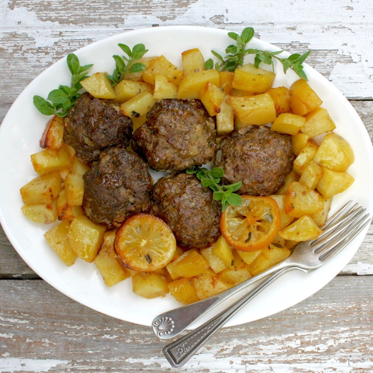 ... Meatballs with Lemon and Herbs | Recipe | Traditional, Greek meatballs